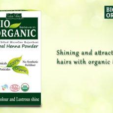 Bio organic henna