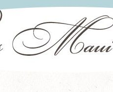 Precious Maui Weddings - Logo
