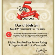 av rating 5 years